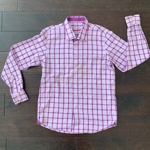 Robert Graham checked long sleeve button up shirt